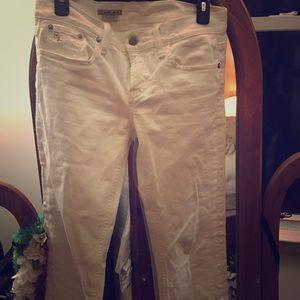 Vintage Ralph Lauren cream jeans